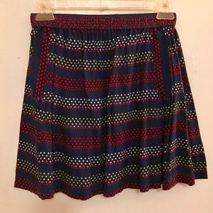 Urban Outfitters Casual Dot Print Pocket Skirt NWT